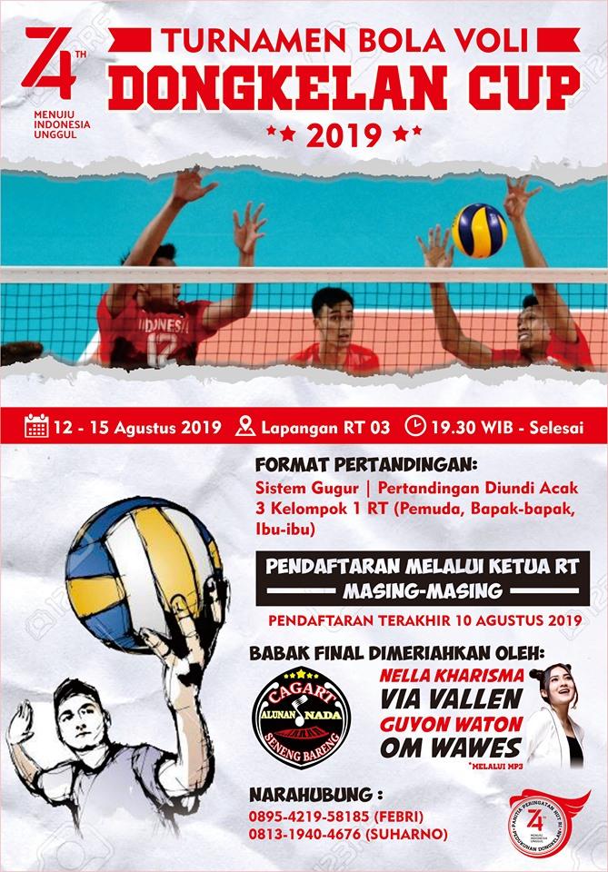 Turnamen Bola Voli Panggungharjo